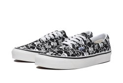 画像1: VANS   ERA 95 DX ANAHEIM FACTORY OG SKULLS BLACK/WHITE